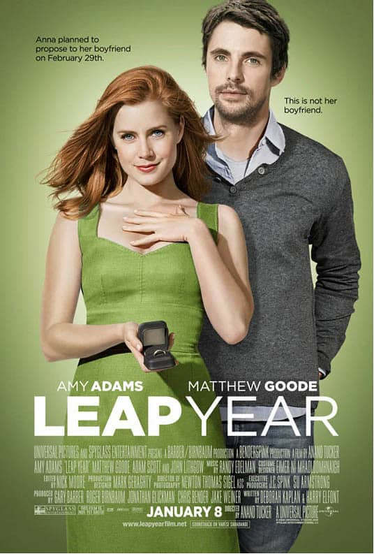 Leap year filmposter
